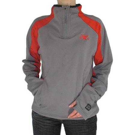 SESSIONS Judy WMN (grey/patrol red) longsleeve