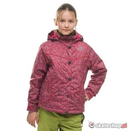 SESSIONS Munchie V J's pink roses snowboard jacket