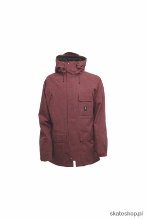 SESSIONS Supply (burgundy) snowboard jacket