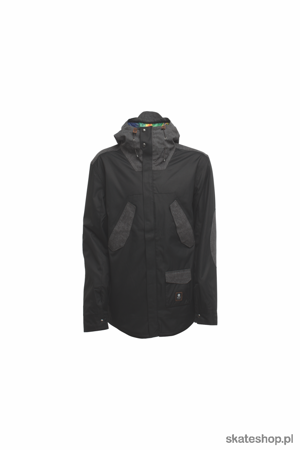 SESSIONS Wire (black) snowboard jacket