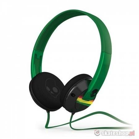 SKULLCANDY Uprock (black rasta) headphones