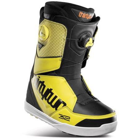 THIRTYTWO Lashed Double BOA '21 (black/yellow) snowboard boots