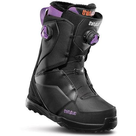 THIRTYTWO Lashed Double BOA WMN (black/purple) snowboard boots