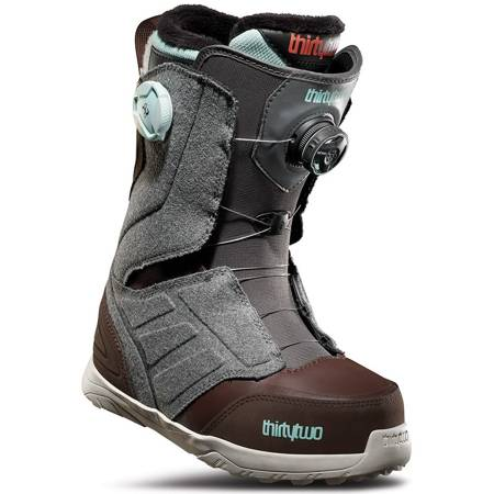 THIRTYTWO Lashed Double BOA WMN (grey/brown) snowboard boots