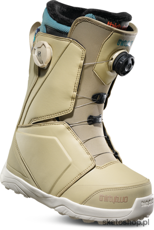 THIRTYTWO WMN Lashed Double BOA (tan/blue) snowboard boots