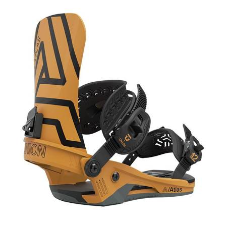 UNION Atlas '21 (mustard yellow) snowboard bindings