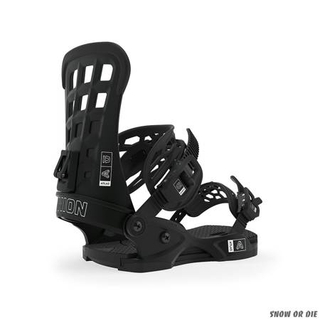 UNION Atlas (black) snowboard bindings