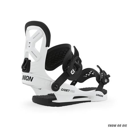 UNION Cadet Pro (white) snowboard bindings