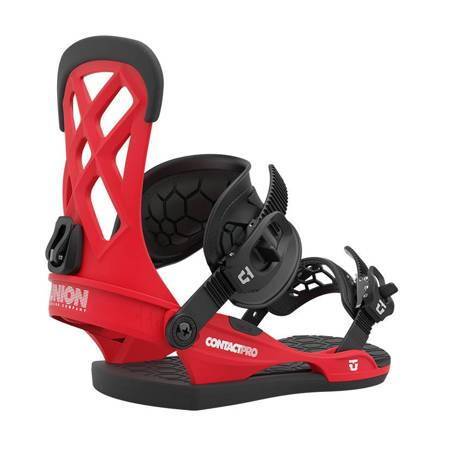 UNION Contact Pro '21 (red) snowboard bindings
