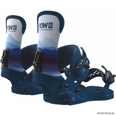 UNION Custom House x POW (pow) snowboard bindings