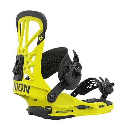 UNION Flite Pro '21 (hazard yellow) snowboard bindings