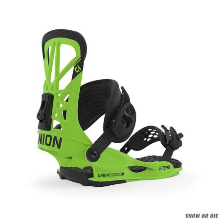 UNION Flite Pro (acid green) snowboard bindings