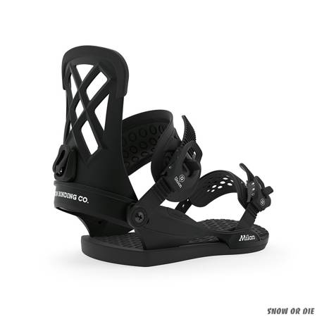 UNION Milan WMN (black) snowboard bindings