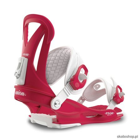 UNION Rosa WMN (raspberry) snowboard bindings