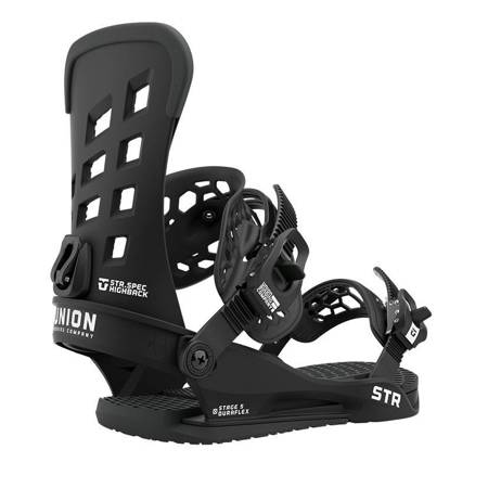 UNION STR '21 (black) snowboard bindings