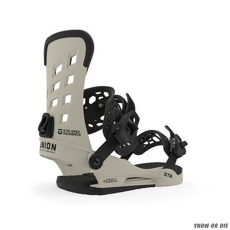UNION STR (bone) snowboard bindings