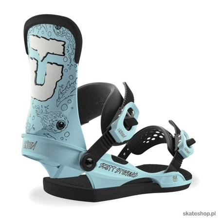 UNION Scott Stevens Limited Edition 19' (blue) snowboard bindings