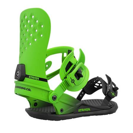 UNION Strata '21 (acid green) snowboard bindings