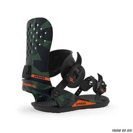 UNION Strata (camo) snowboard bindings