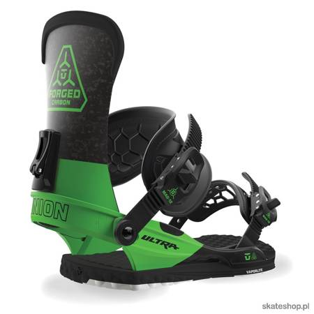 UNION Ultra (green) snowboard bindings