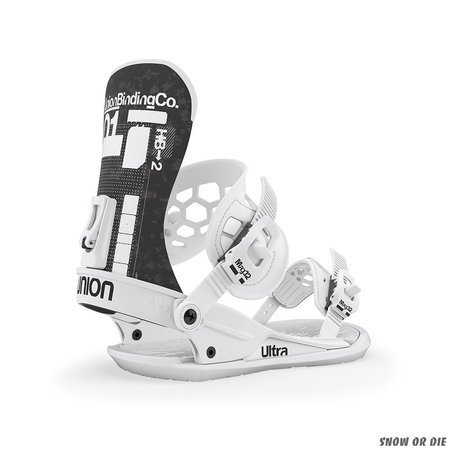 UNION Ultra (white) snowboard bindings