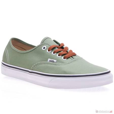 VANS Authentic (brushed twill/shr green/true white) shoes
