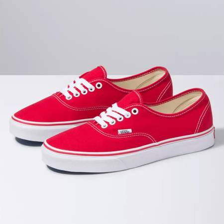 VANS Authentic (red) shoes