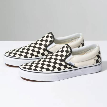 VANS Slip On (checkerboard black/off white) shoes