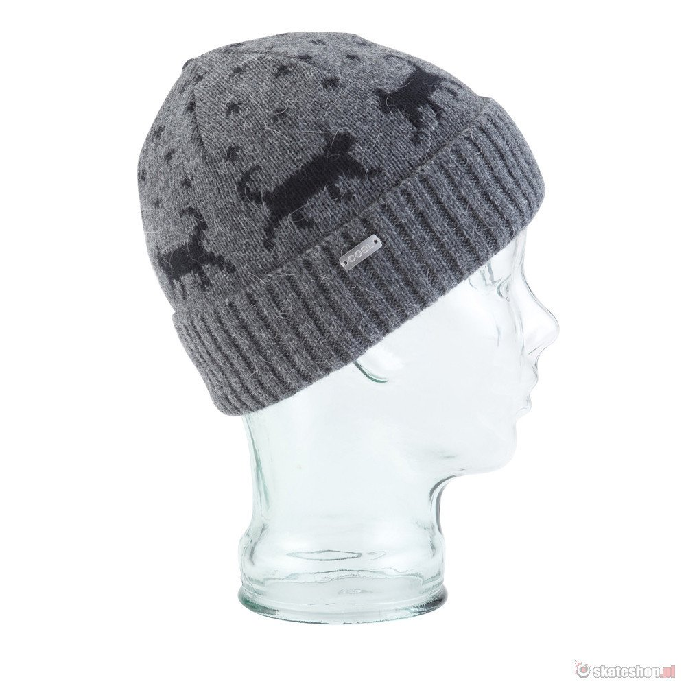 b8182e15ab0 COAL The Dottie  14 WMN (charcoal) beanie ...