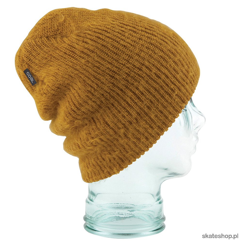 b1929fa5716 COAL The Scotty (heather mustard) winter hat ...