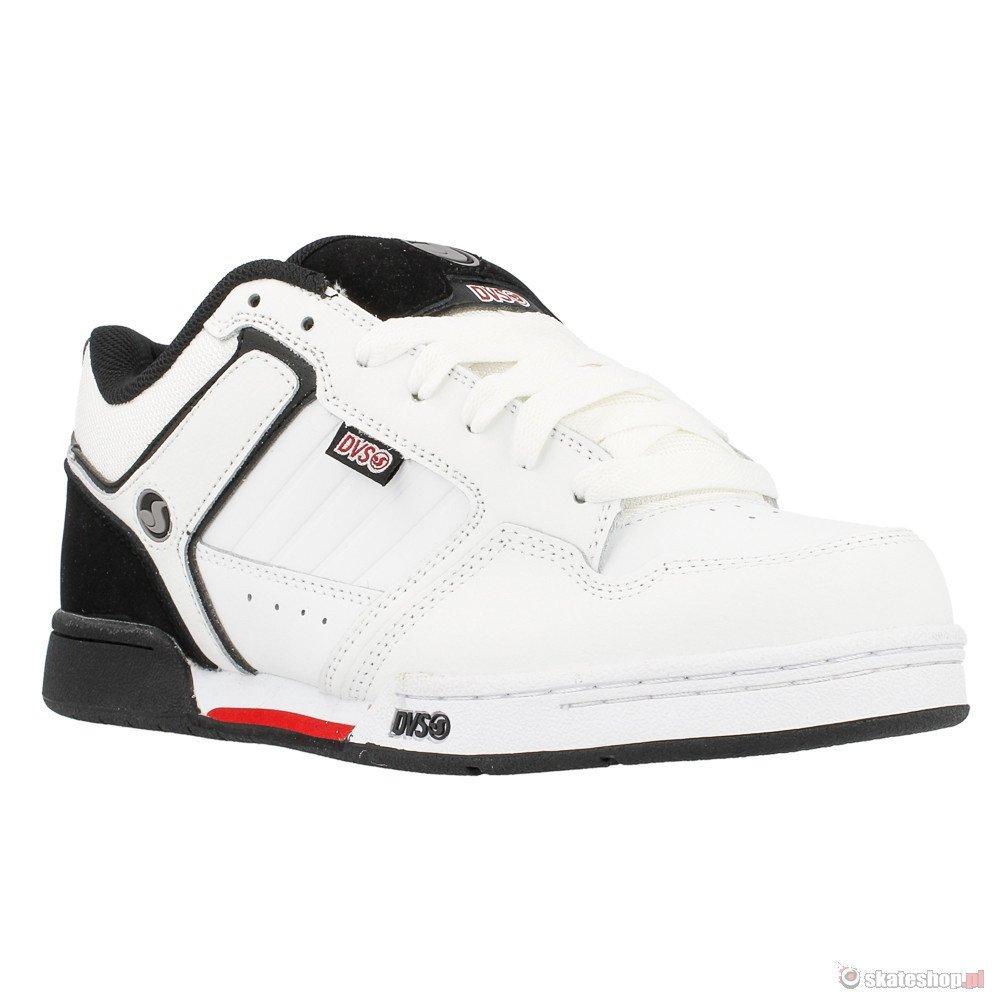 602044fdaf7 ... DVS Transom  14 (white black leather) shoes ...