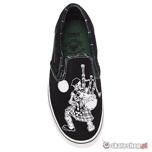 VANS Classic slip on dropkick murphysblackhuntergreenoff the wall shoes