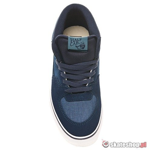a22a1c9a90 ... VANS Half Cab Chambray peact indian teal shoes ...