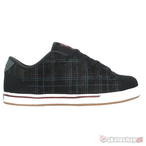 ADIO Drayton black/plaid/gum shoes