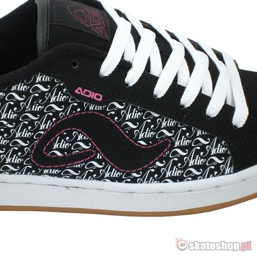 ADIO Eugene RE WMN black/white print shoes