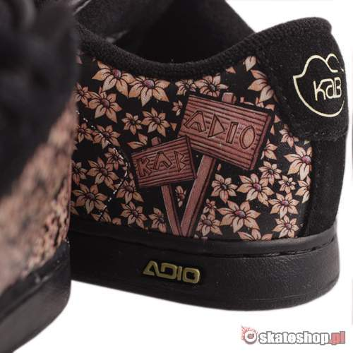 ADIO Eugene RE WMN caia kab/black shoes