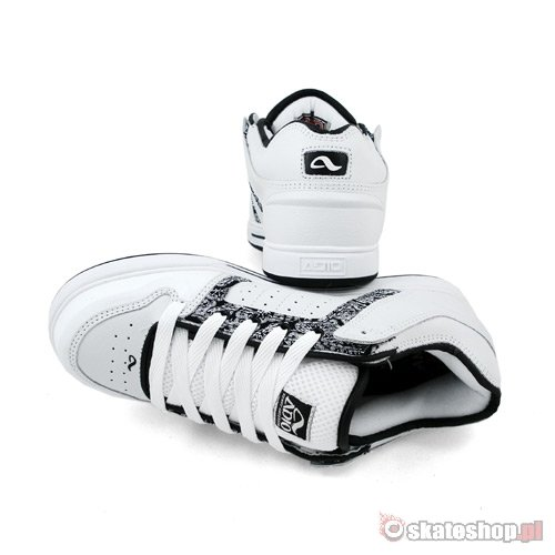 ADIO Kenny Anderson v.2 white/black print shoes