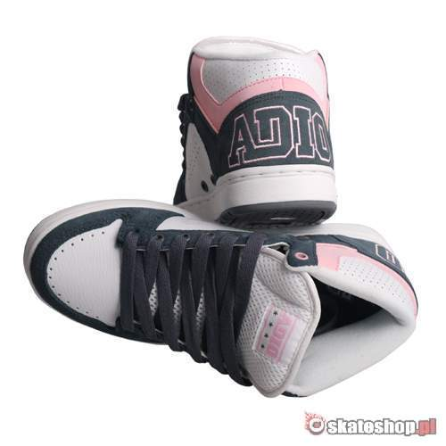 ADIO Kingsley WMN white/charcoal/pink shoes