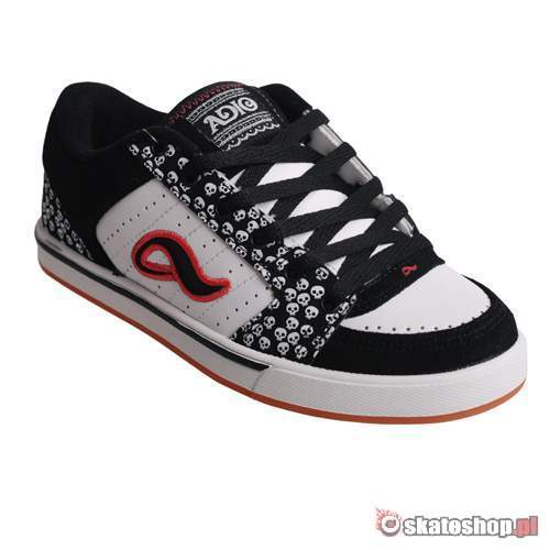 ADIO Snap WMN black/white/red shoes