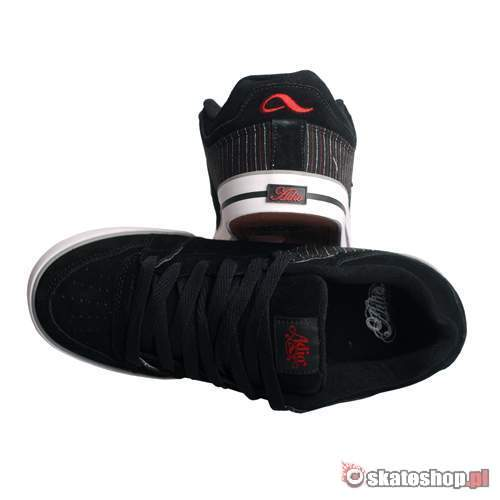 ADIO Upland black/red/stripe shoes