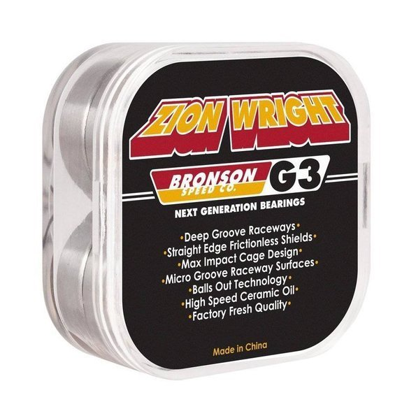 BRONSON Zion Wright PRO G3 bearings