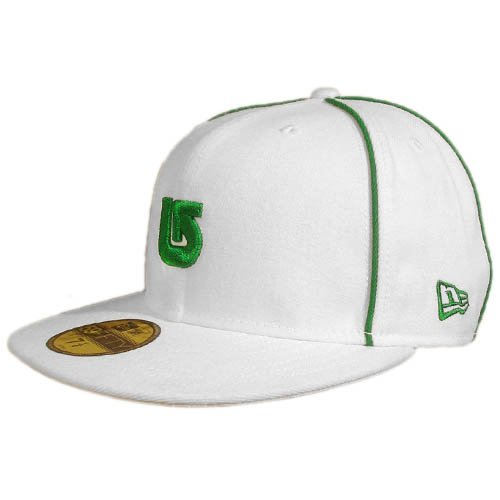 BURTON by NEW ERA white cap