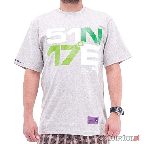 CLINIC Namiar (grey/white/green) t-shirt