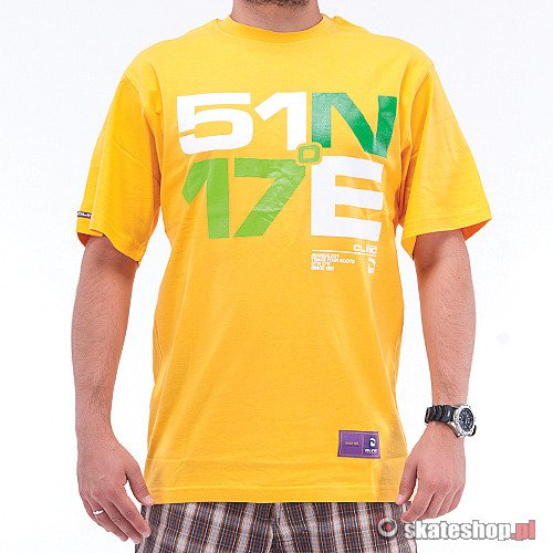 CLINIC Namiar (yellow/white/green) t-shirt
