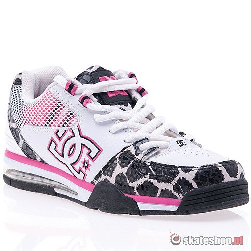 DC Versatile WMN (white/black/crazy pink) shoes