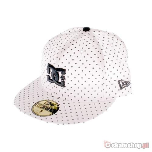 DC by New Era P Dot white/black cap