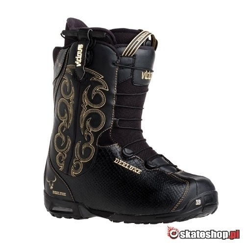 DEELUXE Vicious SCL SF black snowboard shoes