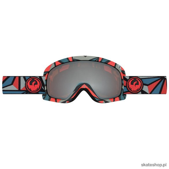 DRAGON D3 (Structure / Ionized + Rose) snow goggles