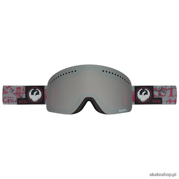 DRAGON NFX (Tribe Red / Ionized + Yellow Red Ion) snow goggles