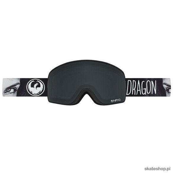 DRAGON NFX2 (Mistress / Dark Smoke + Yellow Red Ion) snow goggles